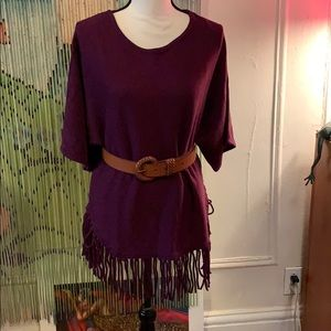 Kate & Mallory western style butterfly sleeves